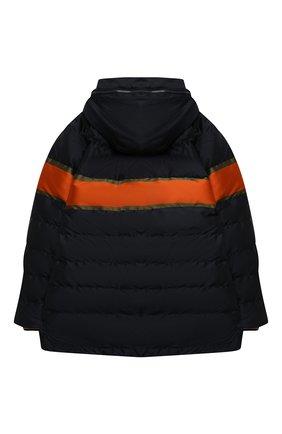 Детский пуховая куртка DOLCE & GABBANA темно-синего цвета, арт. L4JB1P/G7WWL/8-14   Фото 2