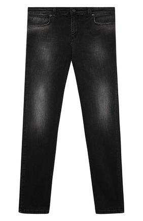 Детские джинсы PAOLO PECORA MILANO черного цвета, арт. PP2488/14A-16A   Фото 1