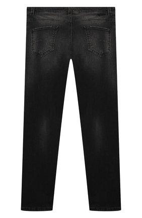 Детские джинсы PAOLO PECORA MILANO черного цвета, арт. PP2488/14A-16A   Фото 2