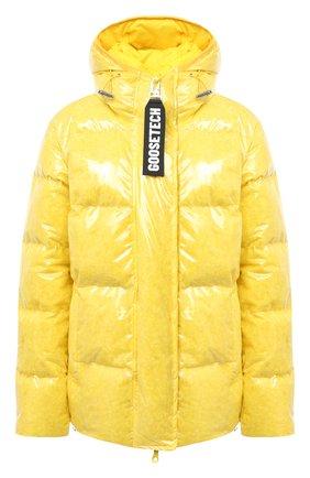 Женский пуховая куртка GOOSE TECH желтого цвета, арт. GST.220.114.601 | Фото 1