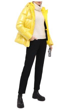 Женский пуховая куртка GOOSE TECH желтого цвета, арт. GST.220.114.601 | Фото 2
