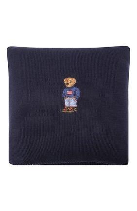 Подушка с наволочкой RALPH LAUREN синего цвета, арт. 650684768001 | Фото 1