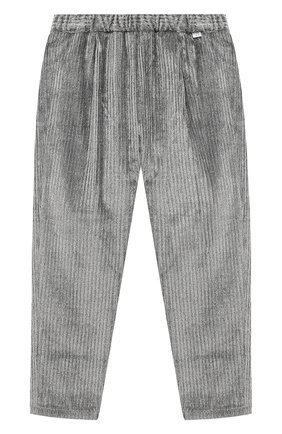 Детские брюки IL GUFO серого цвета, арт. A20PL316V0015/5A-8A | Фото 1