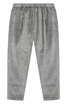 Детские брюки IL GUFO серого цвета, арт. A20PL316V0015/5A-8A | Фото 2