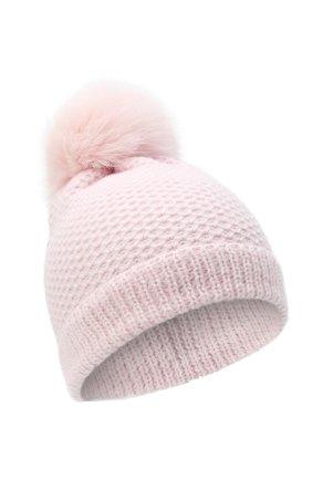 Детского кашемировая шапка GIORGETTI CASHMERE розового цвета, арт. MB1695/V0LPE/12A | Фото 1 (Материал: Кашемир, Шерсть)