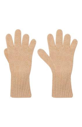 Детские кашемировые перчатки GIORGETTI CASHMERE бежевого цвета, арт. MB1699/12A | Фото 2 (Материал: Кашемир, Шерсть)