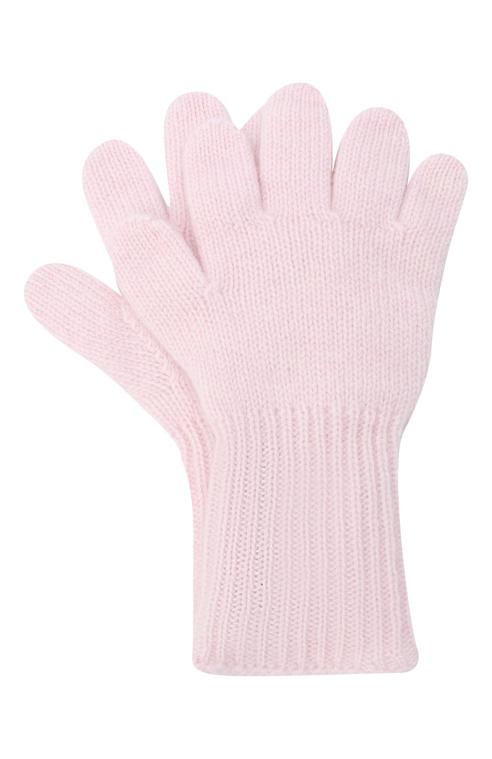 Детские кашемировые перчатки GIORGETTI CASHMERE розового цвета, арт. MB1699/4A | Фото 1