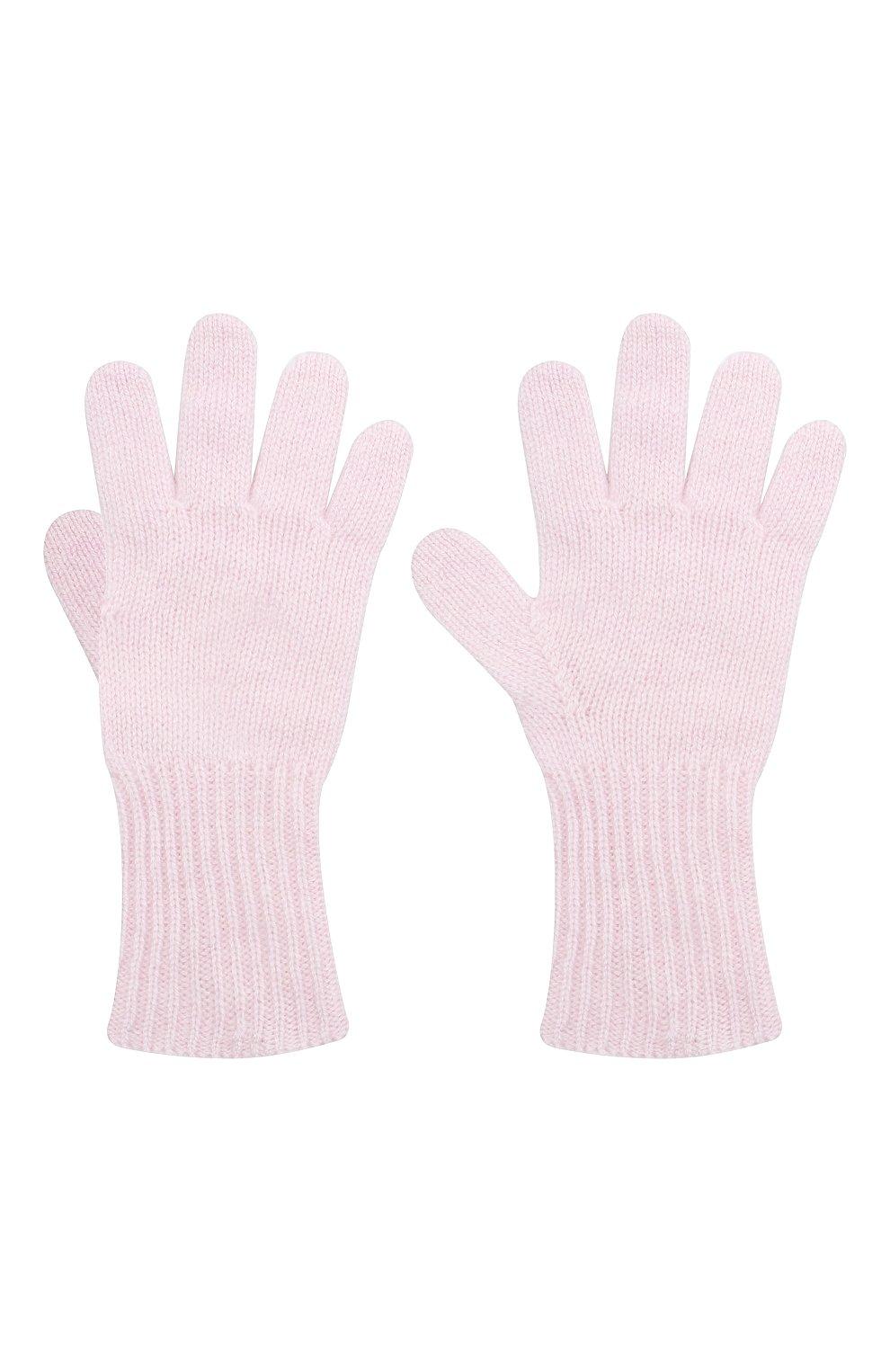 Детские кашемировые перчатки GIORGETTI CASHMERE розового цвета, арт. MB1699/8A | Фото 2