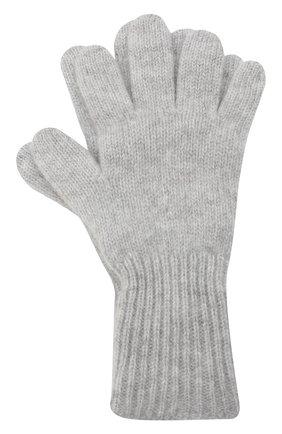 Детские кашемировые перчатки GIORGETTI CASHMERE светло-серого цвета, арт. MB1699/8A | Фото 1