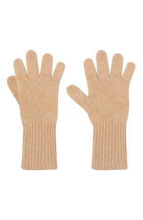 Детские кашемировые перчатки GIORGETTI CASHMERE бежевого цвета, арт. MB1699/8A | Фото 2