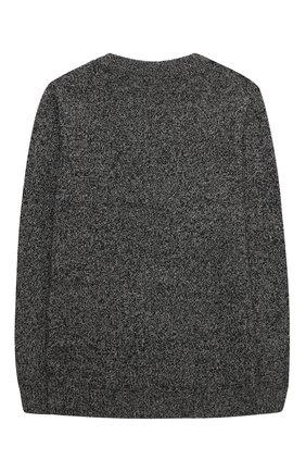 Детский шерстяной пуловер PAOLO PECORA MILANO черного цвета, арт. PP2392/14A-16A | Фото 2