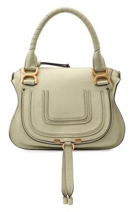 Женская сумка marcie small CHLOÉ зеленого цвета, арт. CHC17WS928161 | Фото 1