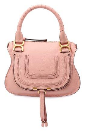 Женская сумка marcie small CHLOÉ розового цвета, арт. CHC17WS928161 | Фото 1