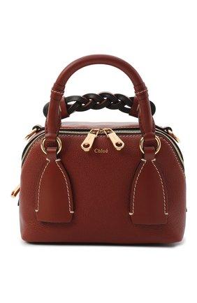 Женская сумка daria CHLOÉ коричневого цвета, арт. CHC20US361C62   Фото 1