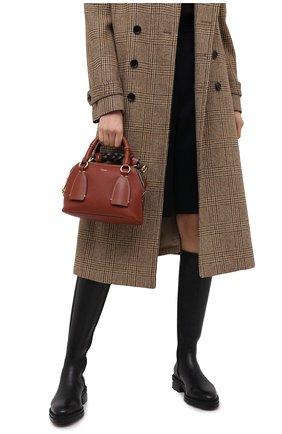 Женская сумка daria CHLOÉ коричневого цвета, арт. CHC20US361C62   Фото 2