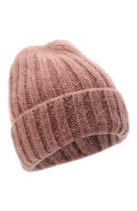 Женская шерстяная шапка CANOE розового цвета, арт. 4922467 | Фото 1