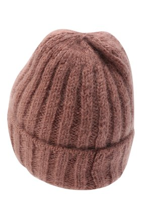Женская шерстяная шапка CANOE розового цвета, арт. 4922467 | Фото 2
