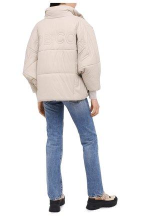 Женская куртка JACOB COHEN бежевого цвета, арт. J9161 F 02246-N/54   Фото 2