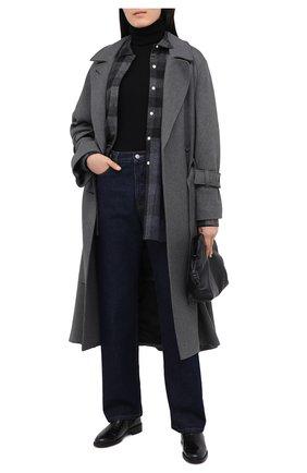 Женские кожаные челси PERTINI черного цвета, арт. 192W16405D1 | Фото 2