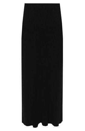 Женская юбка PIETRO BRUNELLI черного цвета, арт. G0M021/VIM038 | Фото 1