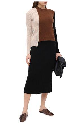 Женская юбка PIETRO BRUNELLI черного цвета, арт. G0M021/VIM038 | Фото 2