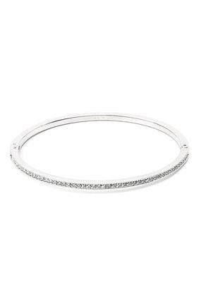 Женский браслет SWAROVSKI серебряного цвета, арт. 5555723 | Фото 2