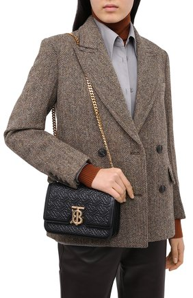 Женская сумка tb small BURBERRY черного цвета, арт. 8031730   Фото 2