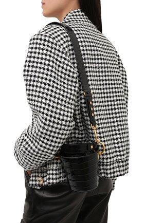 Женская сумка saddler 14 BALMAIN черного цвета, арт. UN0S577/LVRW | Фото 2