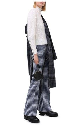 Женский шерстяной свитер GIUSEPPE DI MORABITO белого цвета, арт. PF20042KN-130 | Фото 2