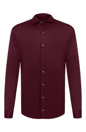 Мужская хлопковая рубашка VAN LAACK бордового цвета, арт. M-PER-L/180031 | Фото 1