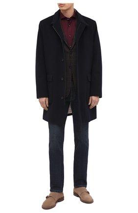 Мужская хлопковая рубашка VAN LAACK бордового цвета, арт. M-PER-L/180031 | Фото 2