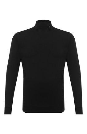 Мужской водолазка из вискозы AMBUSH черного цвета, арт. BMAB004F20JER001 | Фото 1