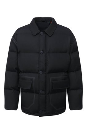 Мужская пуховая куртка HERON PRESTON темно-синего цвета, арт. HMED005F20FAB0014500 | Фото 1
