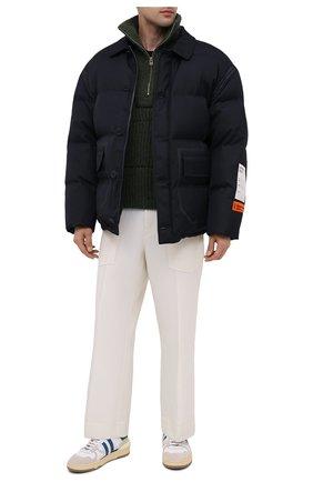 Мужская пуховая куртка HERON PRESTON темно-синего цвета, арт. HMED005F20FAB0014500 | Фото 2
