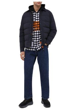 Мужская пуховая куртка ASPESI темно-синего цвета, арт. W0 I 0I06 B762 | Фото 2