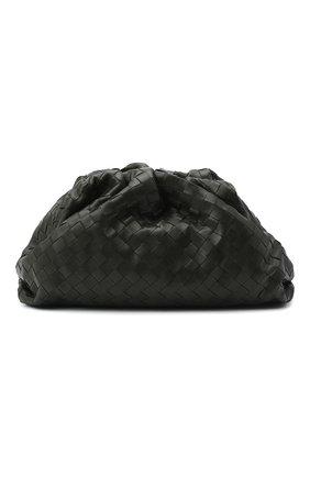 Женский клатч pouch BOTTEGA VENETA хаки цвета, арт. 576175/VCPP0   Фото 1