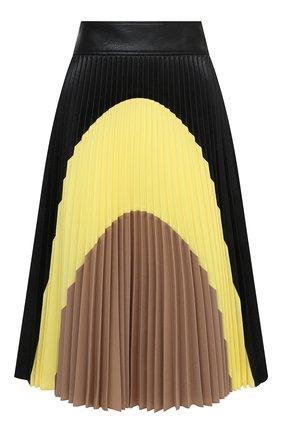 Женская юбка из вискозы STELLA MCCARTNEY черного цвета, арт. 601747/SKB20 | Фото 1