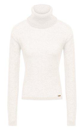 Женский шерстяной свитер DSQUARED2 белого цвета, арт. S72HA0996/S17541 | Фото 1