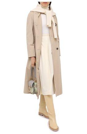 Женский шерстяной свитер DSQUARED2 белого цвета, арт. S72HA0996/S17541 | Фото 2