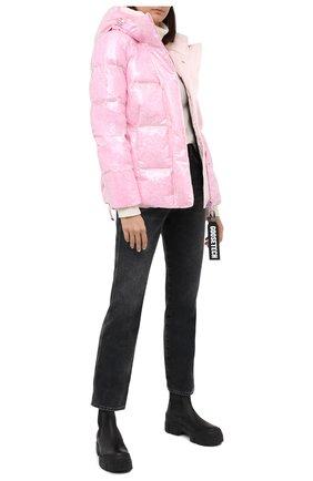 Женский пуховая куртка GOOSE TECH розового цвета, арт. GST.220.114.601 | Фото 2
