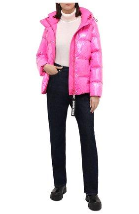 Женский пуховая куртка GOOSE TECH фуксия цвета, арт. GST.220.114.601 | Фото 2