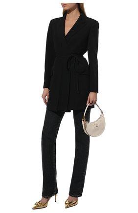 Женский шерстяной жакет VALENTINO черного цвета, арт. UB0CE2305VP | Фото 2