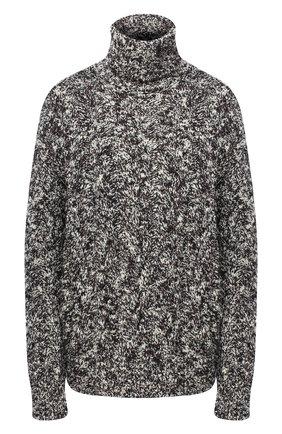Женская шерстяной свитер DOLCE & GABBANA черно-белого цвета, арт. FX897T/JAM4V | Фото 1