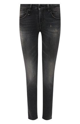 Женские джинсы R13 серого цвета, арт. R13WM4021-17   Фото 1