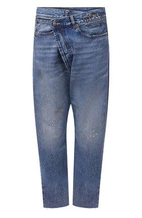 Женские джинсы R13 голубого цвета, арт. R13W2048-735   Фото 1