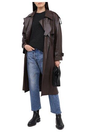 Женские джинсы R13 голубого цвета, арт. R13W2048-735   Фото 2