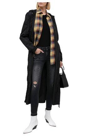 Женские джинсы R13 темно-серого цвета, арт. R13W4021-186A   Фото 2