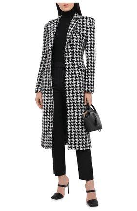 Женское пальто GIUSEPPE DI MORABITO черно-белого цвета, арт. PF20025C0-107 | Фото 2