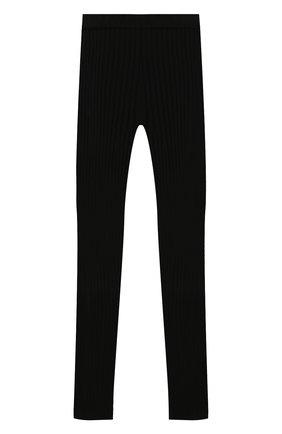 Детские брюки BALMAIN черного цвета, арт. 6N6090/NE740/4-10 | Фото 2