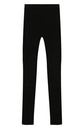 Детские брюки BALMAIN черного цвета, арт. 6N6090/NE740/12-16 | Фото 2